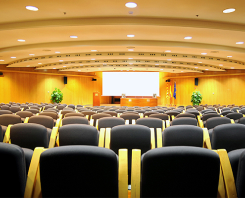 World Trade Center Barcelona - Auditorium room will host the EUROPULP / UTIPULP ANNUAL EVENT Thursday, 12 September, 2019